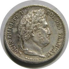 New listing elf France 1/4 Franc 1839 A Silver Louis Philippe I