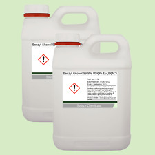 Benzyl Alcohol 99.9% USP,Ph Eur,BP,ACS 2 x 2.5 Litre (5L)