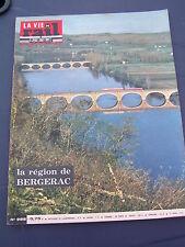 vie du rail 1965 988 BERGERAC MONTCARET BADEFOLS AUDUN ROMAN VILLERUPT TIERCELET