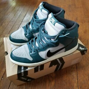 Nike Dunk High Pro Sb 'Newport' - Atomic Teal - 2013 - Size 13 - (305050 306)