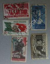 Francobolli - Italia 5 francobolli usati