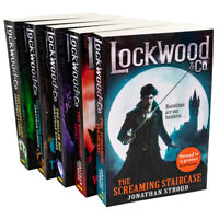 Jonathan Stroud 5 Books Collection Set Lockwood & Co Series Paperback NEW