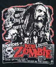 Horrors of Rob Zombie Band Shirt - M - vintage rar