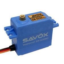 Savox SW-0230MG WATERPROOF STANDARD DIGITAL SERVO + 2 Horns