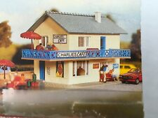 Model Power Building Department Kit #HO571 Charles Cafe - partially assembled