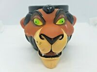 Disney The Lion King Scar Mug Cup 1992 3D Collectable Toys