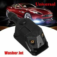 1X Universal Car Arm Windscreen Washer Wiper Blade Water Spray Jets Nozzle Black
