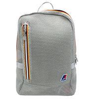 Backpack K-WAY K-Pocket Mesh Man Woman Grey 16 1/2x12 3/16x3 7/8in K3V01