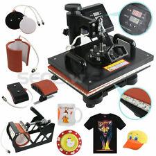 Plate Hat Printer 5 In 1 Digital Heat Press Machine Sublimation For T-Shirt/Mug/