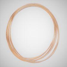 "2  x 9"" Strong Metal Copper Dreamcatcher / Macrame Craft Hoop / Ring & Free Cord"