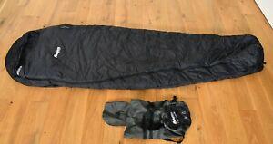 BERGANS Ranger 3-Seasons - Schlafsack, Biwak, Wasserdicht - Neuwertig! 195cm RZ