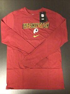 Washington Redskins The Nike Tee Long Sleeve Tshirt Size XL 18/20 §P14