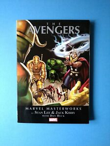 MARVEL MASTERWORKS AVENGERS Vol. 1  Nos. 1-10  Thor / Iron Man / Hulk /  Ant Man