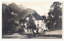 Vorarlberg BÜRS BÜRSERBERG Walgau / Hotel Rhätikon * Foto-AK um 1925