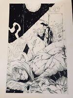 Shelby Robertson Signed MORBID ANGEL #3 Pg 20 Original Art Splash London Night