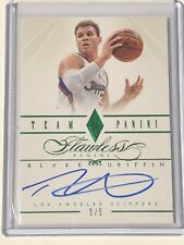 2012-13 Flawless BLAKE GRIFFIN AUTO Autograph Emerald Green 3/5 #21
