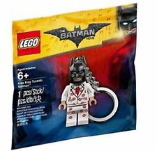 KISS TUXEDO BATMAN movie KEY CHAIN lego NEW legos keychain suit SEALED BAG