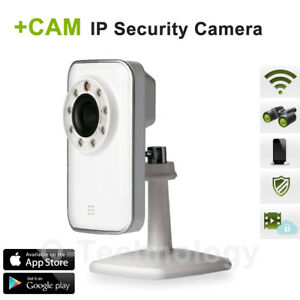 +CAM Wireless IP Indoor Security Camera  Android & iPhone using iSecurity+ App