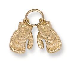 Boxing Glove Pendant Boxing Glove Charm Yellow Gold 3 grams