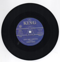 """SHIRLEY WAHLS Why Am I Crying / That's How NEW NORTHERN SOUL DEMO 45 7"""" VINYL"""