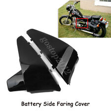 Black Battery Side Faring Cover For Honda Shadow VT600 VLX 600 STEED400 88-98