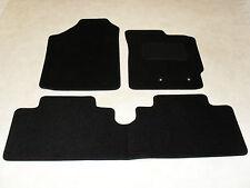 Toyota Yaris 2006-2011 Fully Tailored Car Floor Mat Set in Black