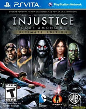 Injustice: Gods Among Us -- Ultimate Edition (Sony PlayStation Vita, 2013)