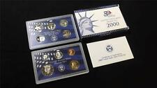 2000 S US Mint Proof 10 Coin Set