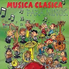 NEW Musica Clasica Para Ninos (Audio CD)