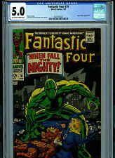 Fantastic Four #70  CGC 5.0 VG/FN 1968 Silver Age Marvel Comic Amricons K16
