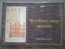 Myer's First Century 1876-1976 - Horatio Myer & Co Ltd - Bedsteads