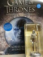 Game Of Thrones GOT Official Collectors Models #15 White Walker EAGLEMOSS NEW