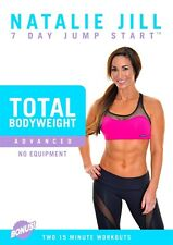 NATALIE JILL 7 DAY JUMP START ADVANCED BODY WEIGHT WORKOUT DVD NEW SEALED