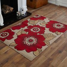 Alfombras y moquetas color principal rojo para el dormitorio