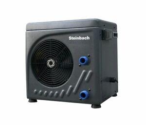 Steinbach Pool Wärmepumpe 3,9 kW Poolheizung Luft Wasser Wärmetauscher Pumpe