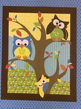 Springs Creative - cp47766 hell Eule Quilt Top Panel - 100% Baumwolle Stoff