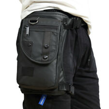 Men Waterproof Oxford Waist Leg Bag Drop Leg Waist Motorcycle Tactical Backpack