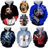 Women/Men 3D Print singers Nipsey Hussle Casual Hoodie Sweatshirt Pullover Tops