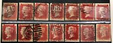 59 x SG43 1d Penny Red Stamp - Plate 90 Reconstruction - VGU/VFU 10-3859-8516-69