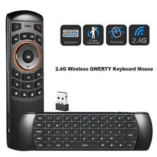 6 Gxes Gyroscope Fly Air Mouse Qwerty Keyboard IR Remote Control F/ TV BOX V8J1