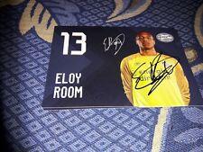 Signierte AK Eloy Room  PSV EINDHOVEN NEU MEGA RAR