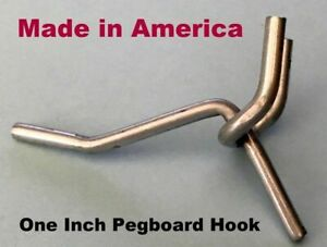 Box of 100 New Retails Black 2 inch Peg Hooks for Wire Grids