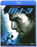 Mission Impossible III(3) (Blu-ray) Eng,Russian,Czech,Italian,Spanish *NEW*