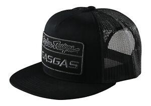 Troy Lee Designs Team GasGas Snapback Stock Hat - Black