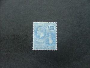 Virgin Islands KGV 1922 2½d pale bright blue SG93 MM