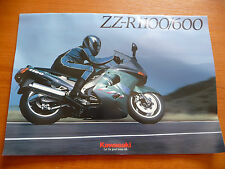 Kawasaki ZZ-R1100/600 Sales Brochure 99948-1196