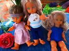les poupées bella 35cm des années 60 ,neuves ,le trio ,au choix
