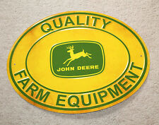 John Deere Quality Farm Equipment Vintage Style Signs Tractor Implements Decor