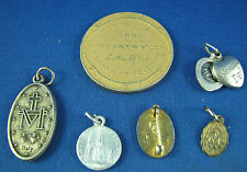 Pendant Medal Pin lot Italy Ste Anne Beaupré