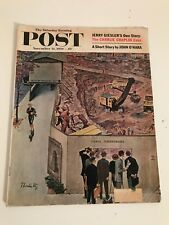 The Saturday Evening Post - 1959  Vintage Classic Rare Out Of Print. Chaplin